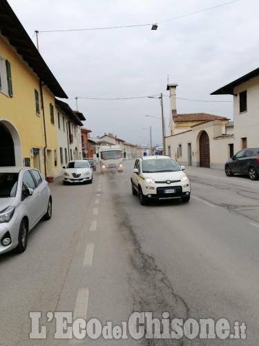Pulizia strade a Villafranca