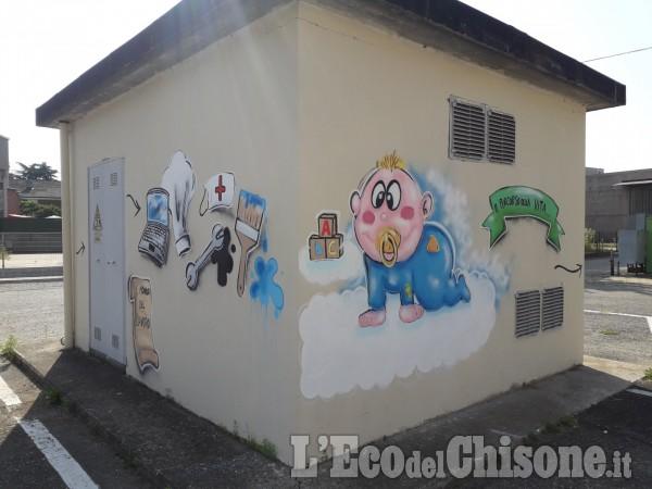 Castagnole: i murales di Piazza Ragazzabile