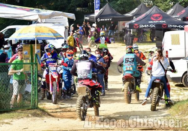 Motocross su due ruote a Baldissero