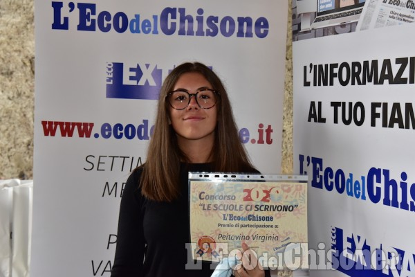 Concorso scuole 2020: premiazione al Castello di Miradolo - Scuole secondarie