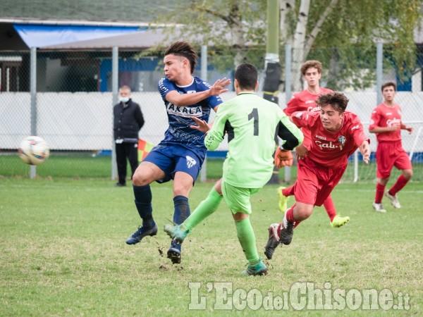 Calcio giovanile: derby spettacolare tra Pinerolo e Chisola Under 17