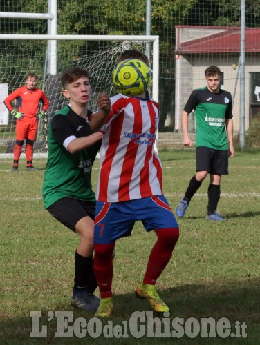 Calcio Under 19: lotta e parità nel derby tra Volvera e Piscinese