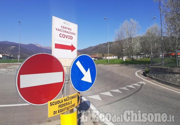 Il Centro vaccinale di Abbadia di Pinerolo operativo dal 5 aprile è quasi pronto