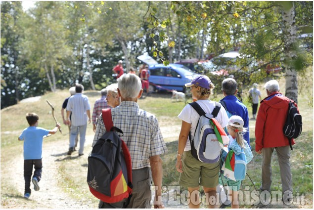 Raduno partigiano al Bagnòou di Angrogna