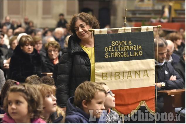 Bibiana: Messa dei saluti per don Martini