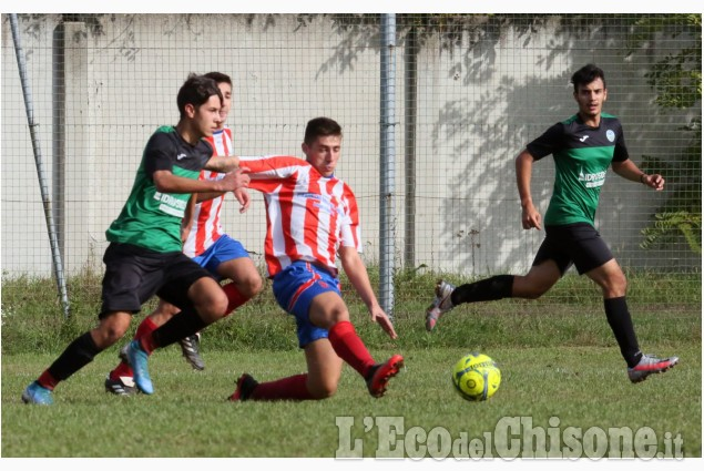 Calcio Under 19: lotta e parità nel derby tra Volvera e Piscinese
