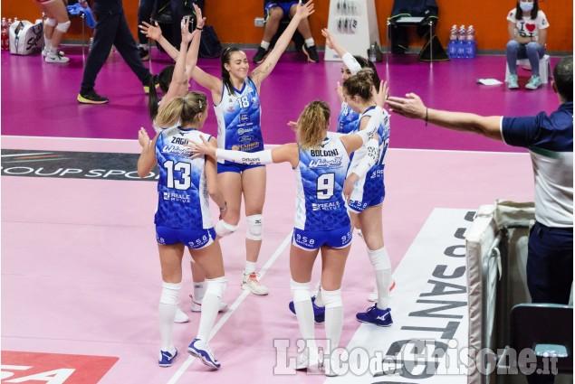 Volley A2 femminile  PInerolo - Sassuolo