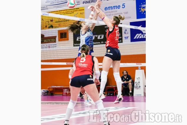 Volley Pinerolo inciampa nell'ostacolo: dopo il blitz a Soverato c'è la vendetta