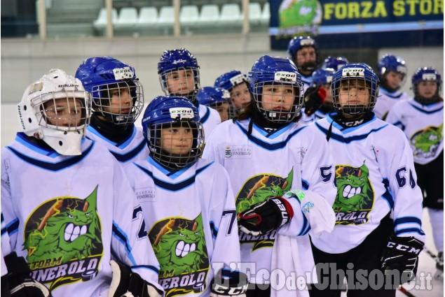 Hockey ghiaccio Under 13 Pinerolo Scudetto vuol dire rampa di lancio