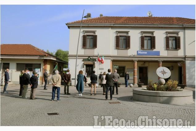 None: il 25 Aprile e l'intitolazione della piazzetta al partigiano Michele Ghio