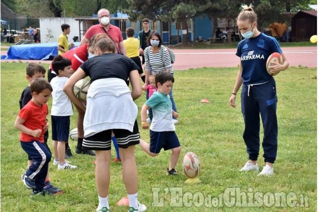 Rugby: un successo l'Open day al campo Martin di Pinerolo