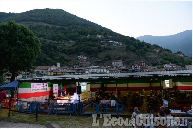 Settimana della montagna di Pomaretto: gran finale con l'arte tra le vigne del Ramìe