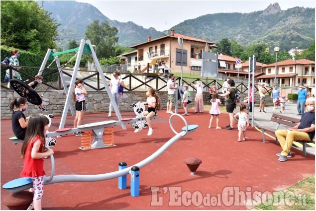 Cantalupa ,un nuovo parco in piazza Fidas