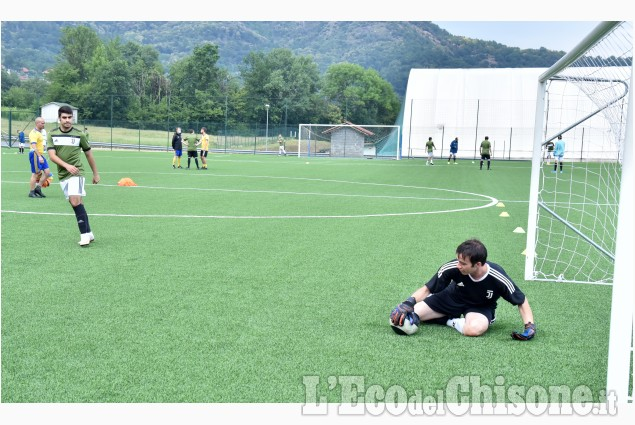 L'allenamento della Juventus for Special a Cantalupa