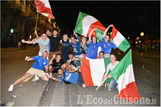 Pinerolo: Italia campione d'Europa, alcuni scatti della serata