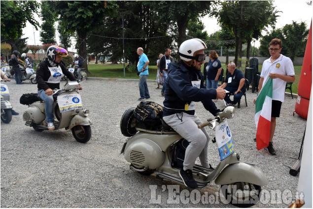 Buriasco: Raduno Vespa Club Pinerolo