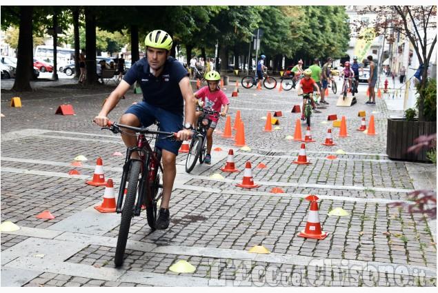 """Pinerolo: """"Open Day"""" per piccoli ciclisti"""