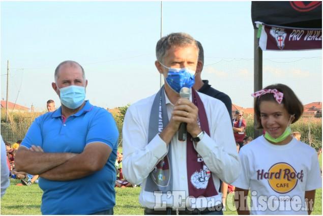 Calcio: la presentazione dell'Academy Pro Vercelli a Pancalieri