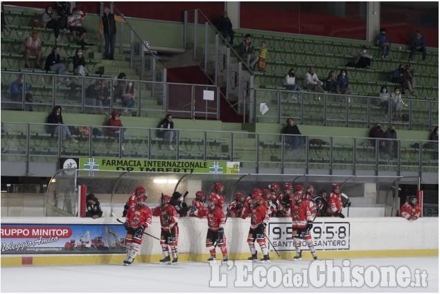 Hockey ghiaggio amichevole a Torre Pellice tra Bulldogs e Varese sabato 11 settembre