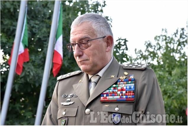 Frossasco: Il Gen.Claudio Graziano
