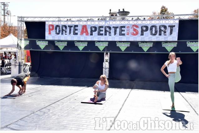 Pinerolo: una domenica con Porte Aperte allo sport