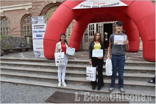 """Cumiana: Premiazione concorso """"Le scuole ci scrivono 2020-21"""""""