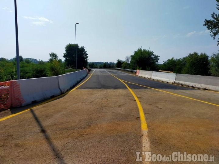 Rivalta: dopo i lavori per il sottopasso della pista ciclabile riapre la bretella sul Sangone