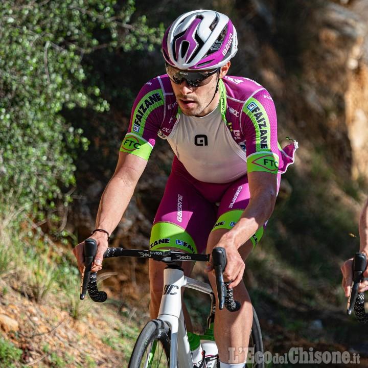 Ciclismo, Giro d'Italia: due pinerolesi, Umberto Marengo al via con la Bardiani Csf