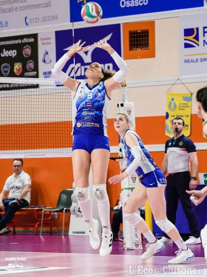 Volley serie A2 donne, nell'andata dei quarti di finale Pinerolo perde a Marsala