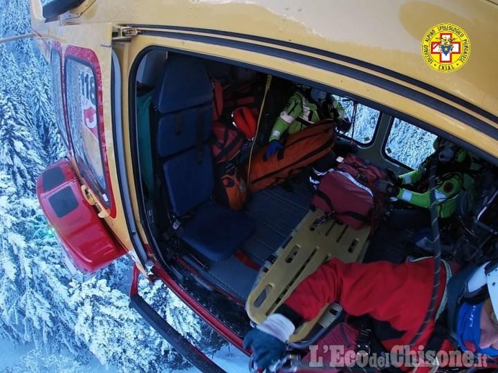 Sestriere: muore escursionista precipitato per 150 metri dal sentiero Bordin