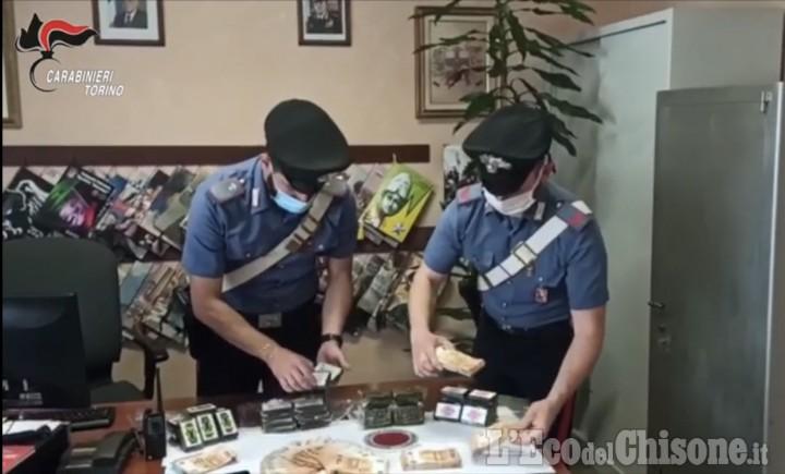 Orbassano: fermato dai carabinieri con 4 kg di hashish in auto, arrestato