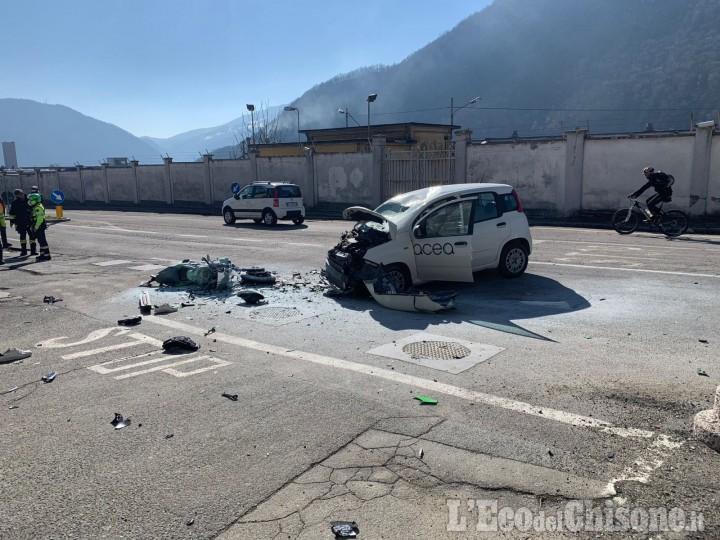 Villar Perosa: è un 27enne di Pinerolo il biker morto nell'incidente contro un'auto