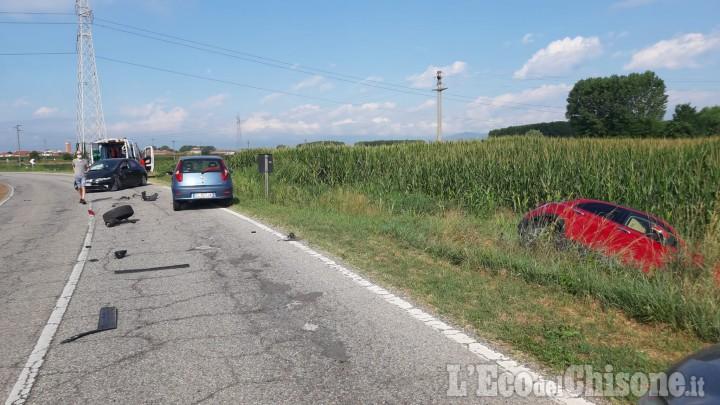 Vinovo: incidente sulla Sp145 per La Loggia, donna ferita