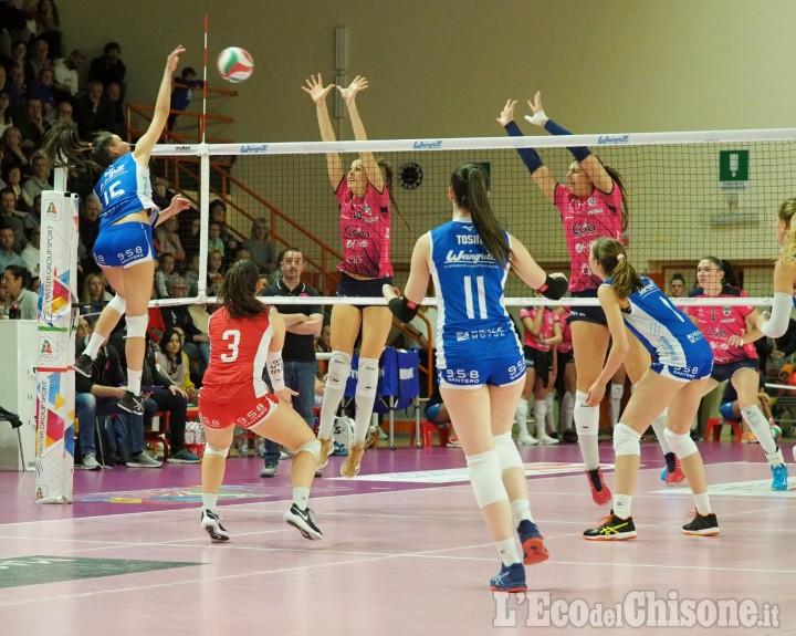 Volley A2 donne, ultima di regular season come Pinerolo sorpreso dalle friulane