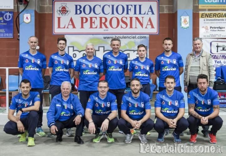 Bocce, in Coppa Europa niente da fare per La Perosina: avanza la Brb