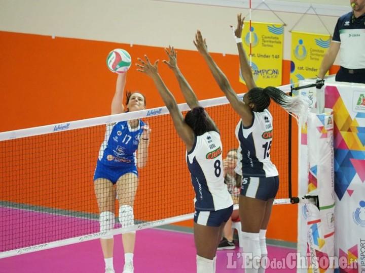Volley serie A2 femminile, Pinerolo ancora vincente: 3-1 al Club Italia e 2° posto consolidato