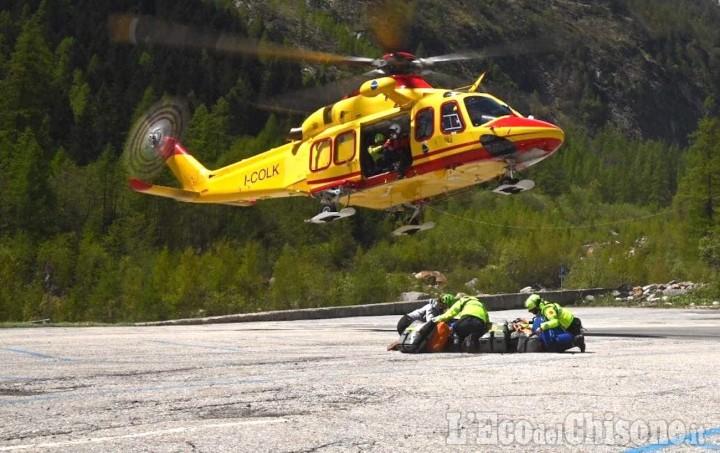 Soccorso Alpino, tre interventi in Valle Po in poche ore