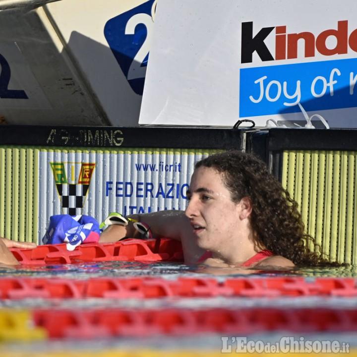 Nuoto, terzo posto sui 200 sl a Roma: la nichelinese Vetrano vede le Olimpiadi