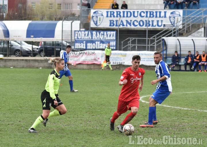 Calcio: nel turno infrasettimanale pari Pinerolo, torna alla vittoria Moretta