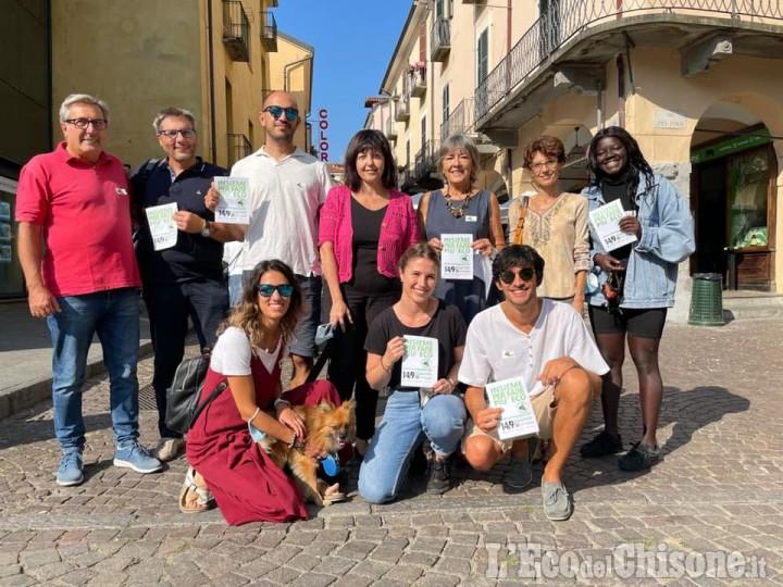 """Elezioni Pinerolo: presentazione della lista """"Ambientalisti per Pinerolo"""" con Silvia Lorenzino"""