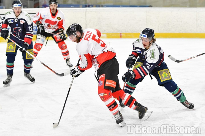 Hockey ghiaccio Ihl, inizia il Master Round per la Valpe, ospite del Pergine