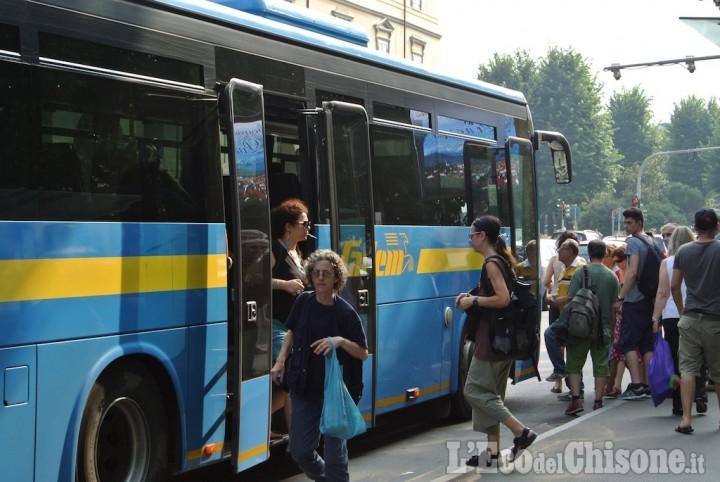 Bus gratis due giorni anche a Pinerolo