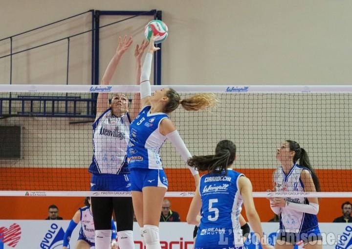 Volley A2 donne, bottino pieno per Eurospin Ford Sara: 3 a 0 su Olbia