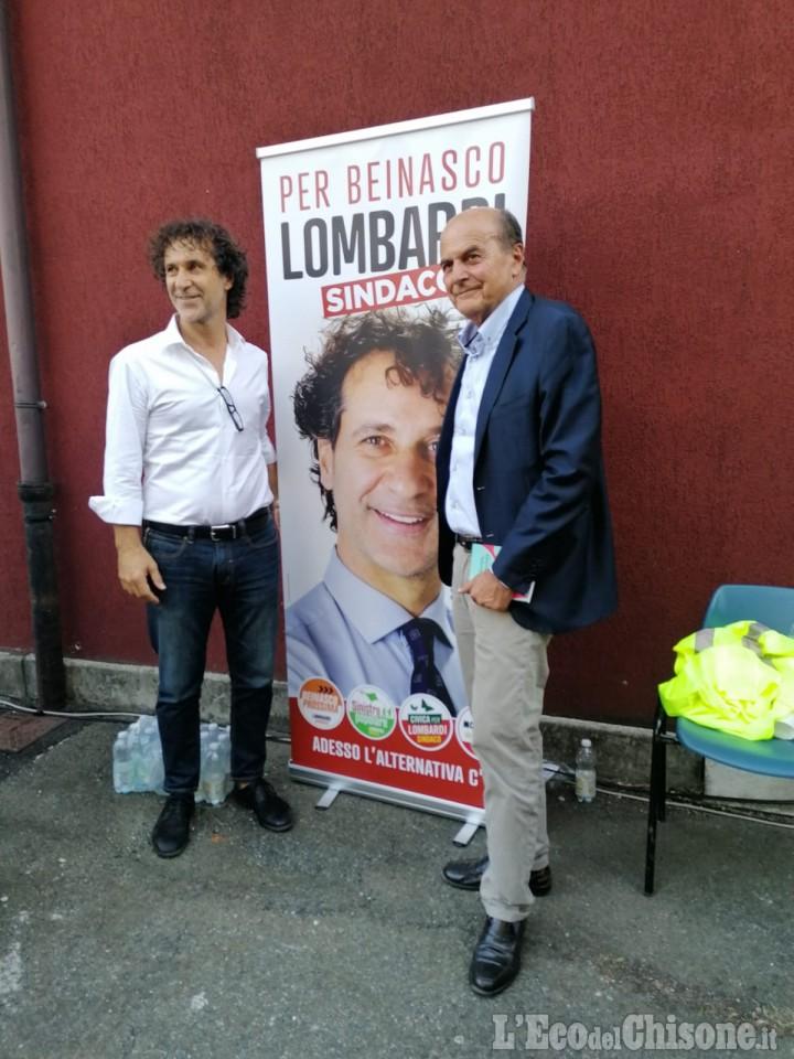 Beinasco: Bersani a Borgaretto per sostenere la candidatura di Lombardi