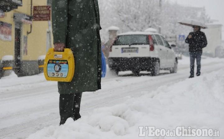 Neve: allerta meteo arancione, attesi fino a 80 centimetri di neve nel week end