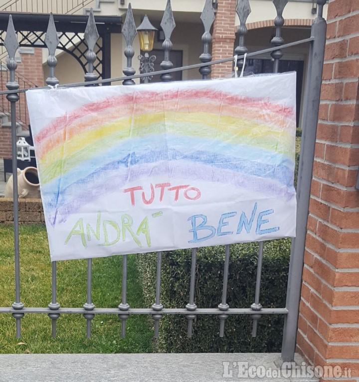 A Cercenasco, domani messa in  streaming e tanti arcobaleni in paese