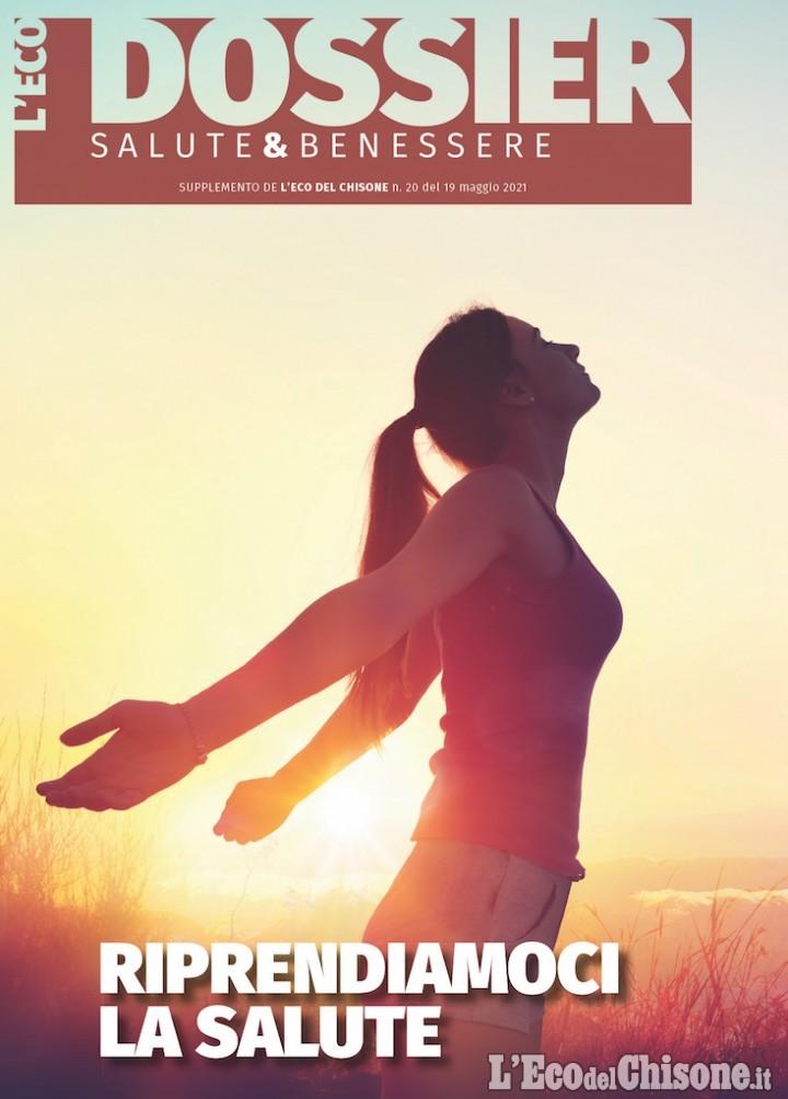"""""""Un passo dopo l'altro alla conquista del benessere e della salute"""": ancora un webinar oggi pomeriggio con L'Eco del Chisone"""