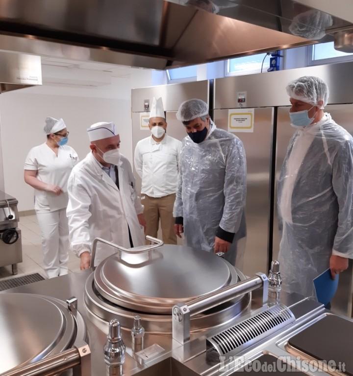 Saluzzo: l'Ospedale inaugura il centro cottura con l'assessore Icardi
