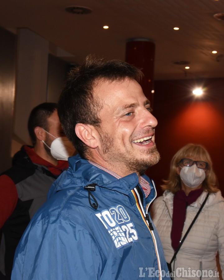 Pinerolo, Salvai: «Sono felice»; Berti: «Comunque un buon risultato»