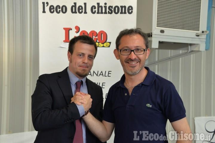 Ballottaggio di Pinerolo: in trecento al Palacurling per il dibattito Barbero-Salvai